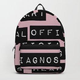 HEART</3BREAK pink Backpack