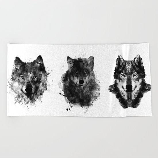 The Wolfpack Beach Towel