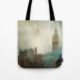 London Surreal Tote Bag