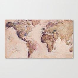 Old World Canvas Print