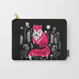 Dancing Forest Woodland Folk Fox Carry-All Pouch