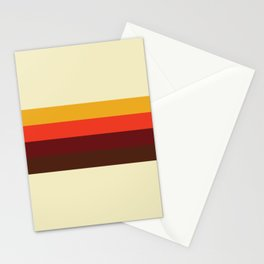 retro color palette Stationery Cards