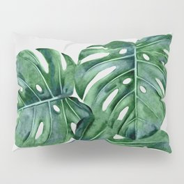 Monstera Pillow Sham