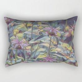 Abstract Thistle Rectangular Pillow