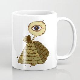 eye in the pyramid! Coffee Mug