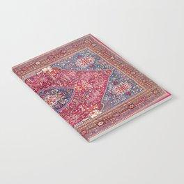 Qashqa'i  Antique Fars Persian Rug Notebook