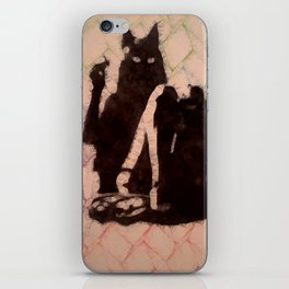 My undivided attention iPhone Skin