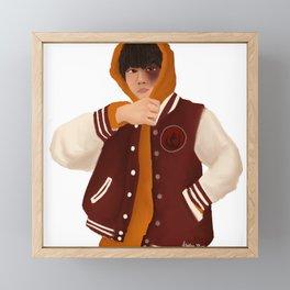 Zuko in Street Fashion | Avatar Art Print Framed Mini Art Print