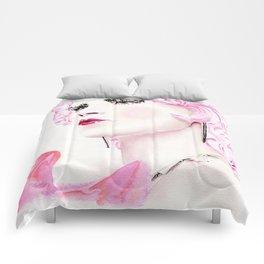 Trinket Pink Comforters