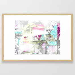 Nana & Doppy Framed Art Print
