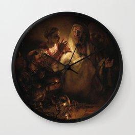The Denial of Saint Peter Wall Clock