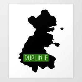 dublin.ie Art Print