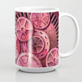Steampink Pink Steampunk Gears Coffee Mug