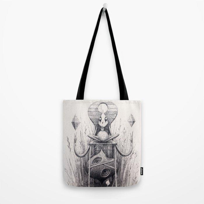 Owl Chair Tote Bag