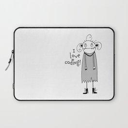 Cute zombie illustration Laptop Sleeve