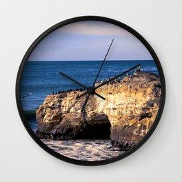 Natural Bridges, Santa Cruz Wall Clock
