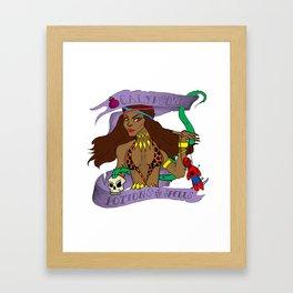 Potions & Spells Framed Art Print