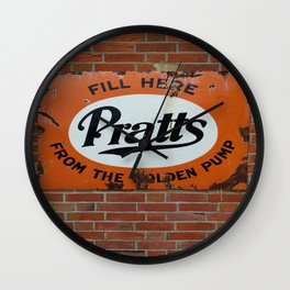 Vintage Advertising Sign Wall Clock