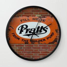 Vintage Advertising Sign Wall Clock
