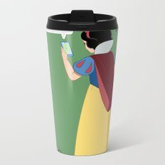 SnowWhite - A smile and a song Metal Travel Mug