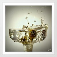 martini Art Prints featuring Martini by D & G Reflections