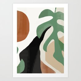 Abstract Art 37 Art Print