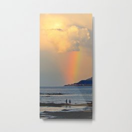 Adventure under the Rainbow Metal Print