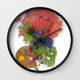 Drawing Wall Clock