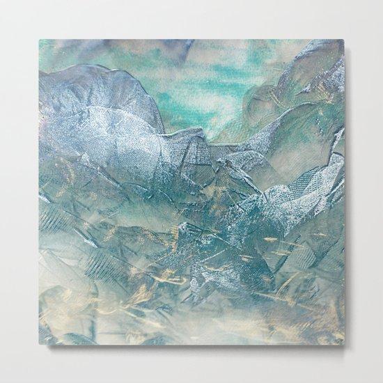 Tulle Mountain 2 Metal Print