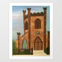 First Baptist Art Print