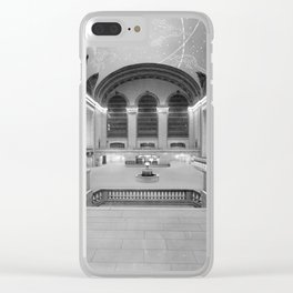 Main Concourse, Grand Central Terminal, New York Clear iPhone Case