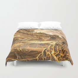 Highway by the Sun Duvet Cover