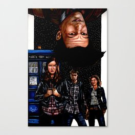 Doctor WHO ? Canvas Print