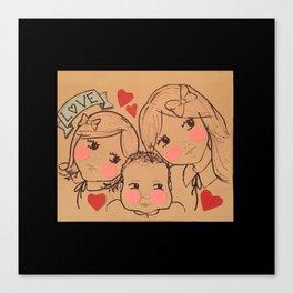 Cousin Love Canvas Print