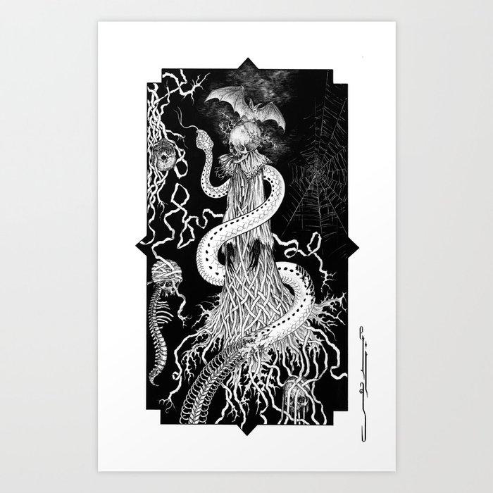 Necrodoll Art Print