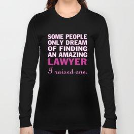 LAWYER'S MOM Long Sleeve T-shirt