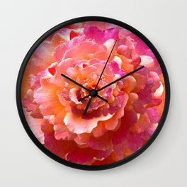 The Rose of Infinity Wall Clock