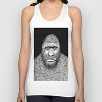 bigfoot Tank Tops featuring Bigfoot by The Art of Filippo Borghi