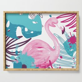 Havana flamingo Serving Tray