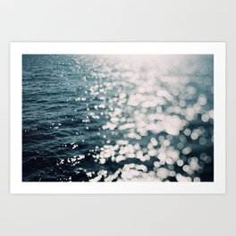 Sea Spark Art Print