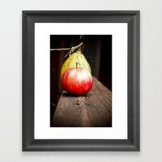 Autum Apple Framed Art Print
