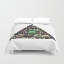 Graffiti Spray Cans - Geometric Photography Duvet Cover