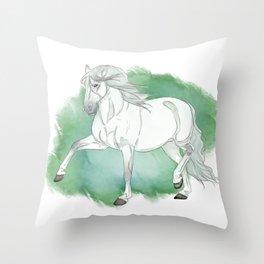 The Grey Throw Pillow