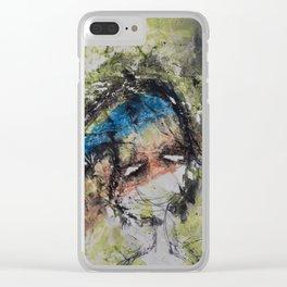 Expresión 07 Clear iPhone Case