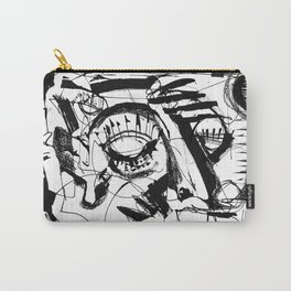 Shelter - b&w Carry-All Pouch