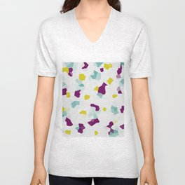 crystallized Unisex V-Neck