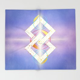 Geometry of Love :: Pleasure Principle Throw Blanket
