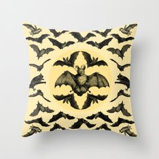 Bats Pattern Throw Pillow