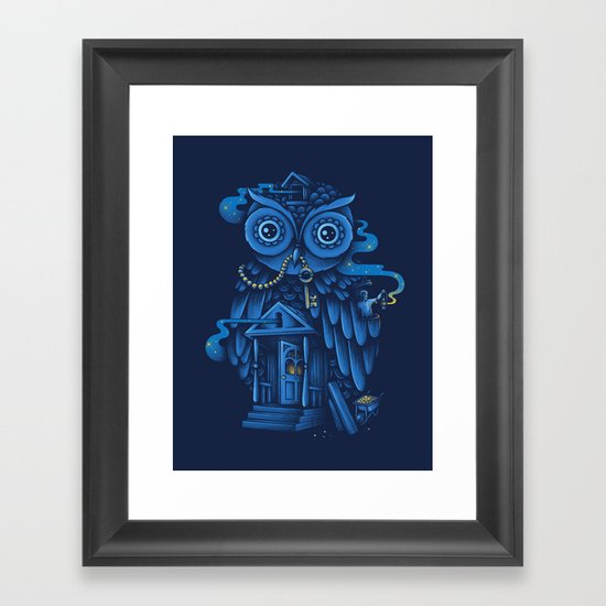 Guardian of the Night Framed Art Print