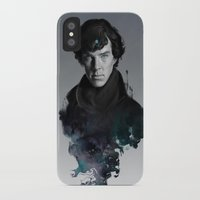 artgerm iPhone & iPod Cases featuring The Excellent Mind by Artgerm™